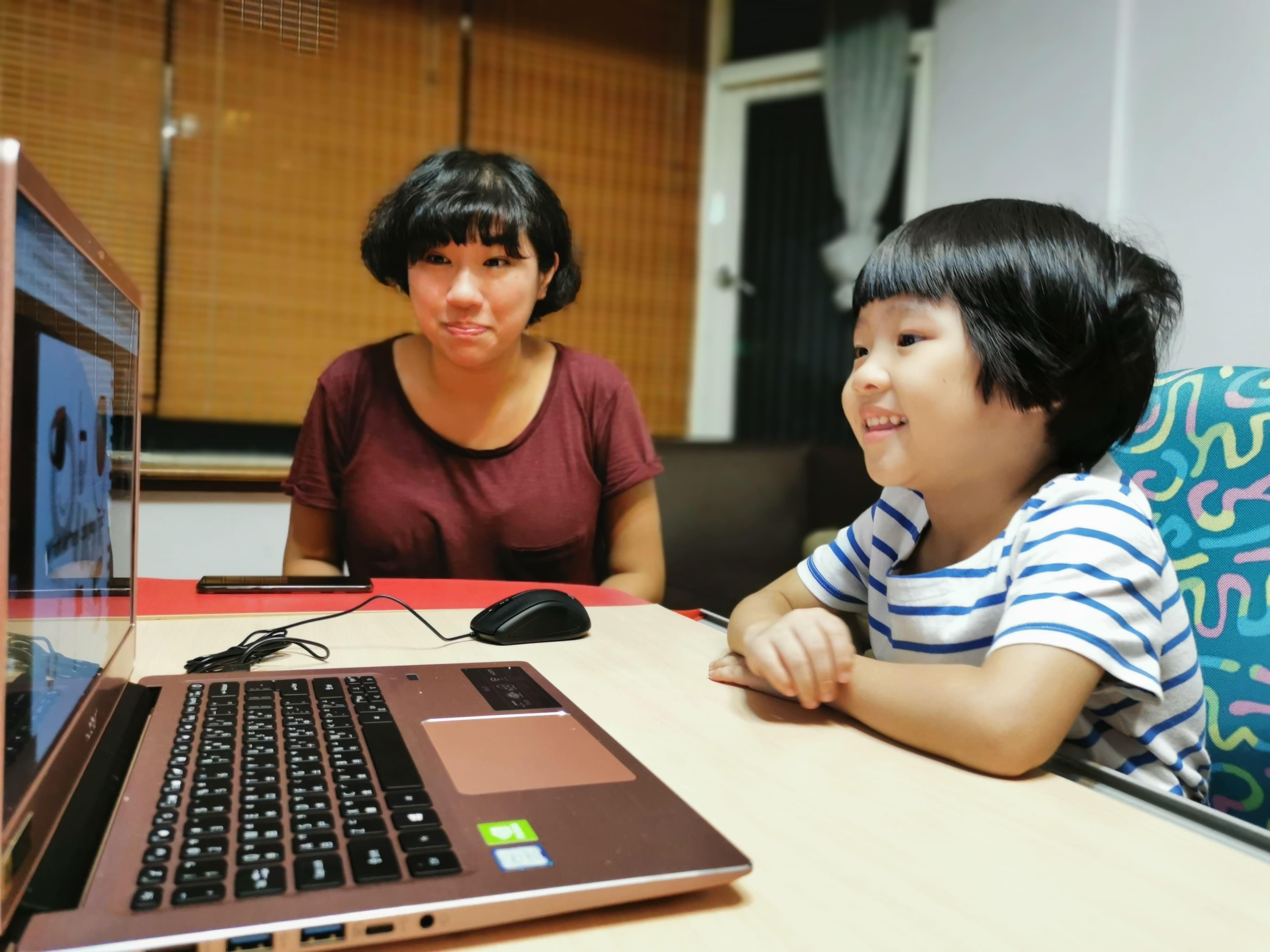 阿姨陪Connie學英文!